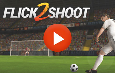 Playable Ad HTML5 Flick Shoot 2
