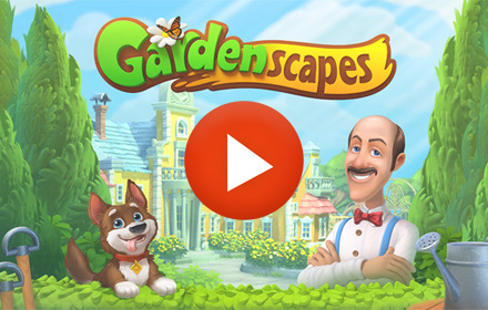 Playable Ad HTML5 Gardenscapes
