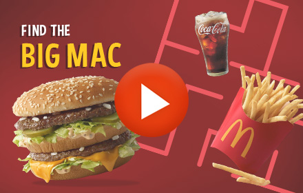 Playable Ad HTML5 McDonald's