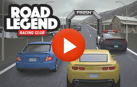 Playable Ad HTML5 Road Legend Car Race Driving Game