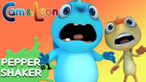 Cam and Leon Donut Hop HTML5 Game