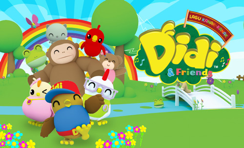 Didi and Friends Coloring Book HTML5 Game