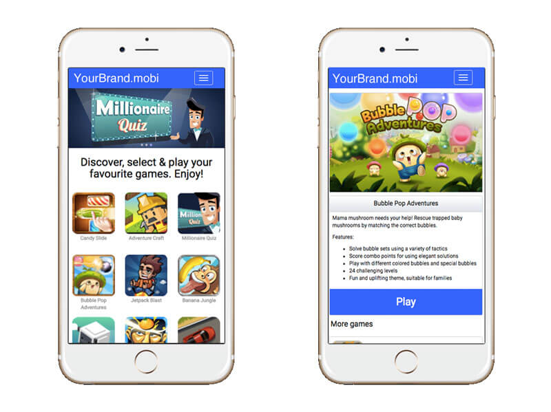 MarketJS - Java Games Portal
